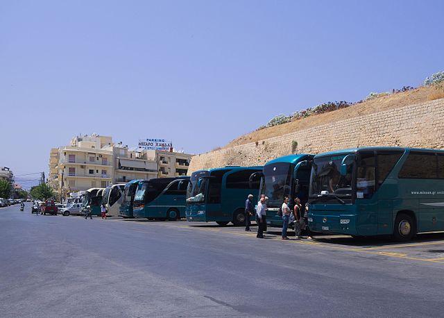 автовокзал B в Ираклионе