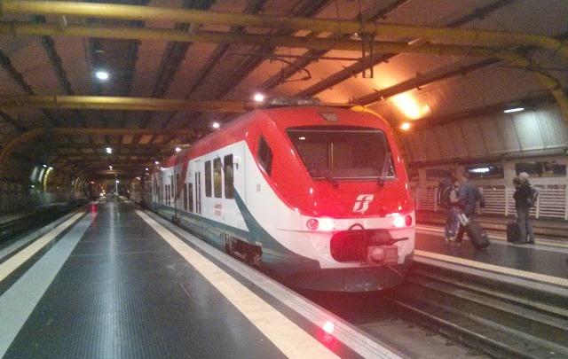 Поезда из аэропорта Рима до центра