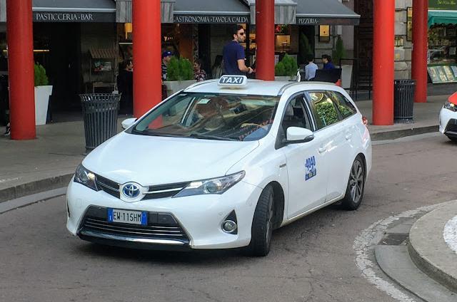 Такси из аэропорта Милана в центр
