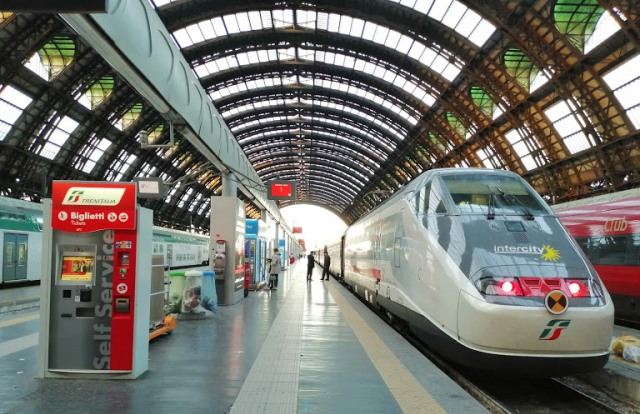 Как добраться из аэропорта Милана в центр на поезде