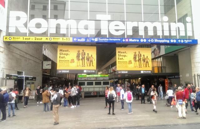Станция Рома Термини
