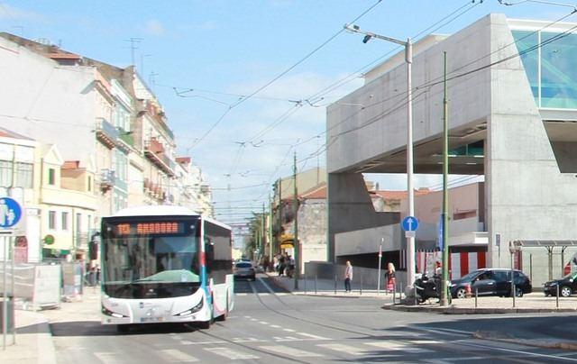 Автобусы из аэропорта Лиссабона