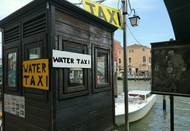 Сколько стоит такси в Венеции