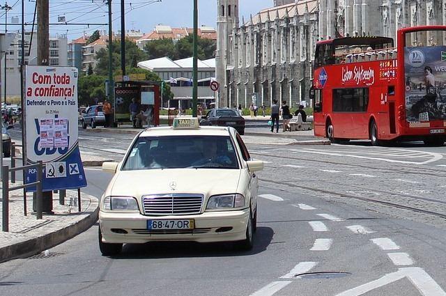 Такси в Лиссабоне из аэропорта