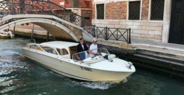 Taxi in Venice