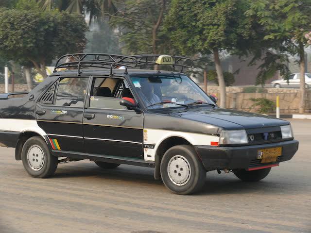 машина такси в Каире