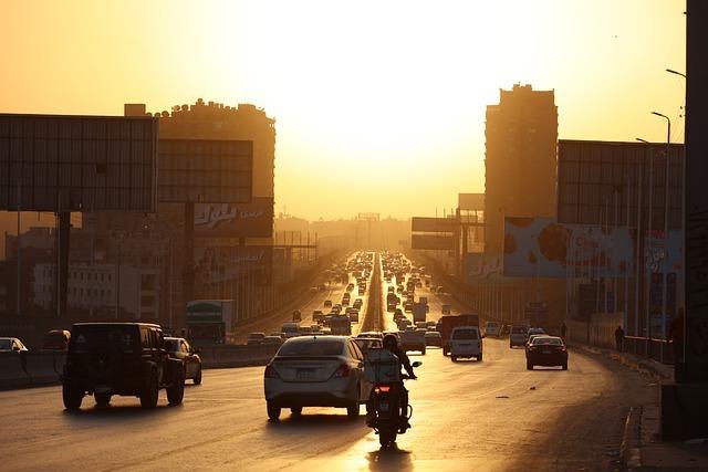 трафик в Египте