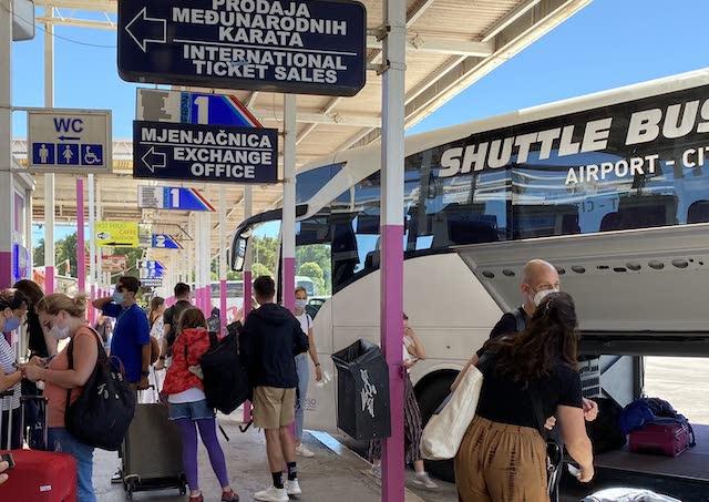 Автовокзал Сплит Хорватия