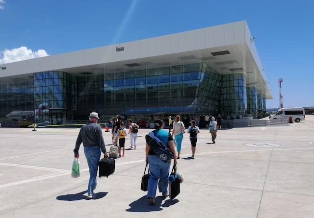 аэропорт Сплит терминал