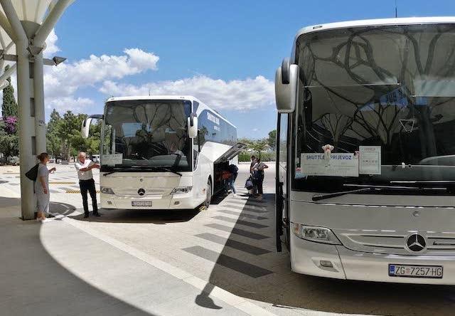 Автобусы из аэропорта Сплита до города
