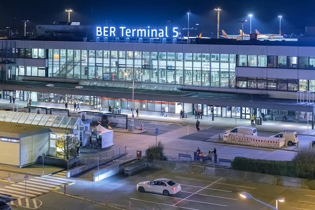 Терминал 5 аэропорт Бранденбург