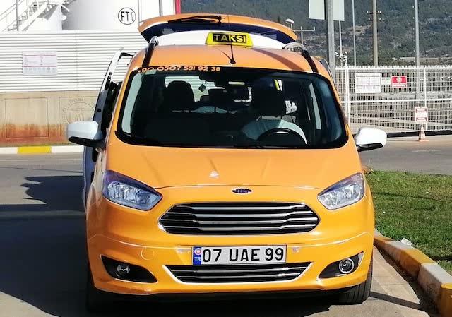 Стоянка такси в Бодруме