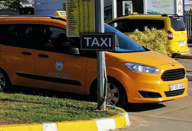 Такси в Фетхие