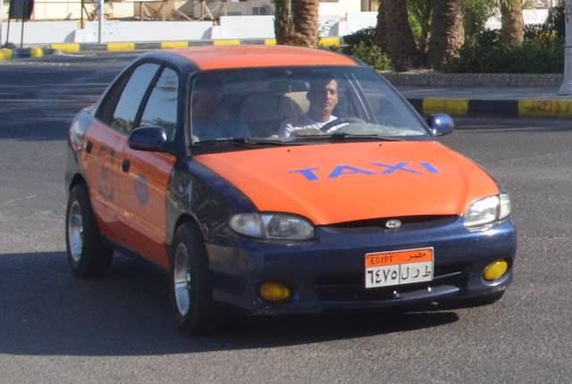 Такси Хургада