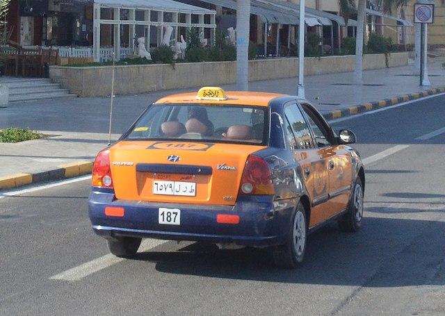 Такси в Хургаде Египет